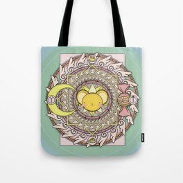 Cuteness Mandala Tote Bag