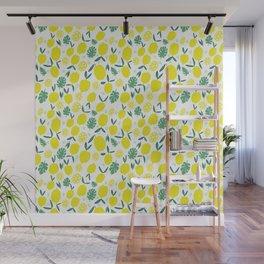 Lemony Fresh Wall Mural