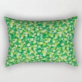 Clover leaves pattern Rectangular Pillow