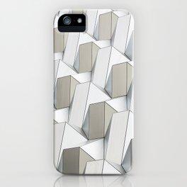 Pattern cubism iPhone Case
