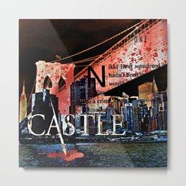 Castle NYC Metal Print