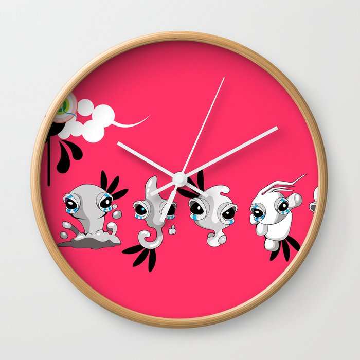 Smudglings Wall Clock