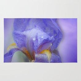Iris and blue sky Rug