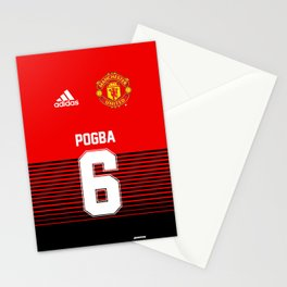 Pogba - Manchester United Home 2018/19 Stationery Cards
