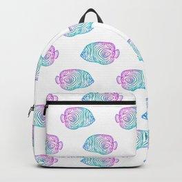Glitter Emperor Angelfish Backpack