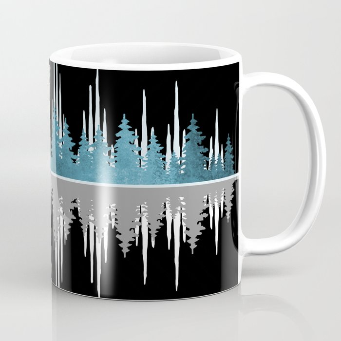 The Sounds Of Nature - Music Sound Wave Coffee Mug