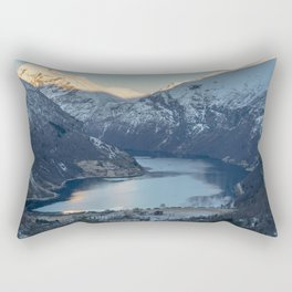 Famous Geirangerfjord in Norway Rectangular Pillow