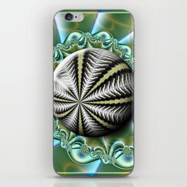 Sea urchin and shell iPhone Skin