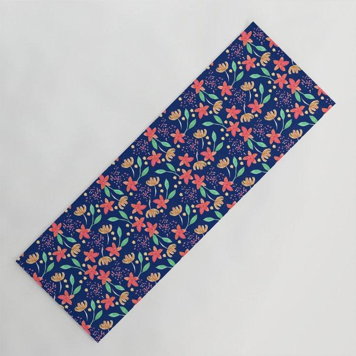 Little flowers Yoga Mat