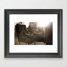 Grounding Framed Art Print