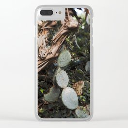 Prickly Pear Mood Clear iPhone Case