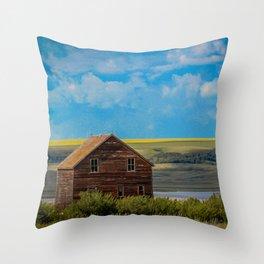 Home on the Range Throw Pillow