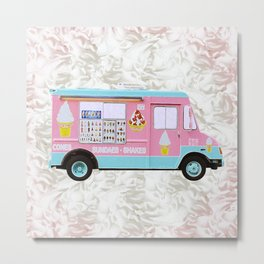 Time For Ice Cream Metal Print