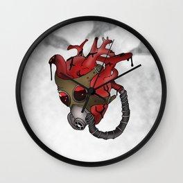 Gaurded Heart Wall Clock