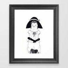 Srta. Asunción Framed Art Print