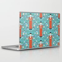 mary poppins Laptop & iPad Skins featuring Mary Poppins by Carly Watts