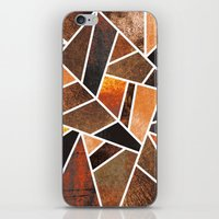 earth iPhone & iPod Skins featuring Earth by Elisabeth Fredriksson