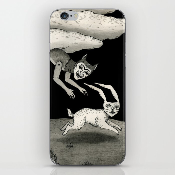 The Abduction iPhone Skin