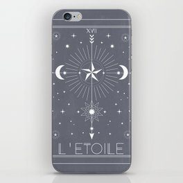 L'Etoile or The Star iPhone Skin