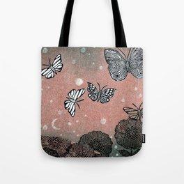 Night Garden (2) Tote Bag