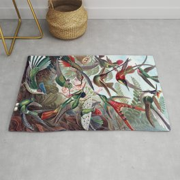 Hummingbirds Rug