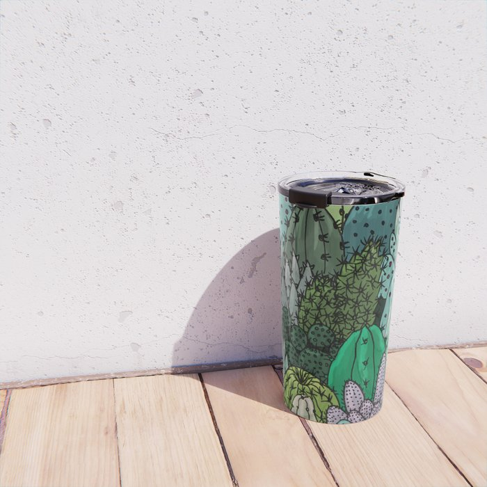 Cactus Collection Travel Mug
