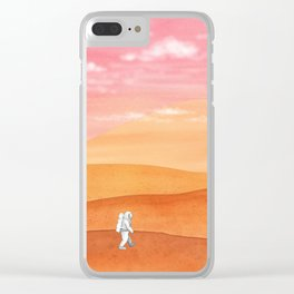 Olympus Mons Clear iPhone Case