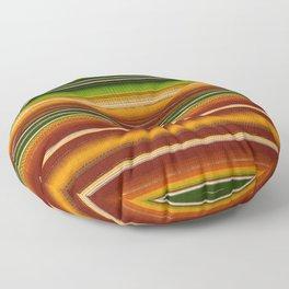 Mexican serape #1 Floor Pillow