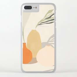 Vases2 Clear iPhone Case