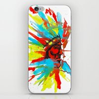 native american iPhone & iPod Skins featuring Native American by ART HOLES