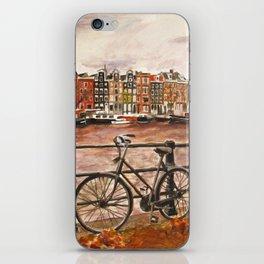 Going Dutch (red) iPhone Skin