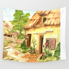 European Countryside Wall Tapestry