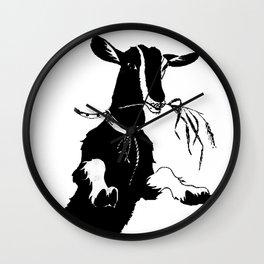 little goat Wall Clock