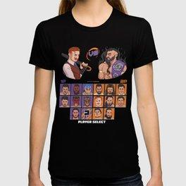 INSERT COINS - Gallagher vs Neville T-shirt
