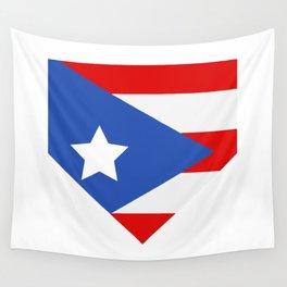 flag puerto rico Wall Tapestry