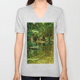 Rainforest 2 Unisex V-Neck