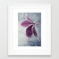 friday Framed Art Prints featuring Friday by Claudia Drossert