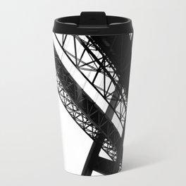 a bridge over troubled waters Travel Mug