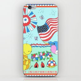 """""""Independence Day"""" iPhone Skin"""
