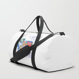 Sleeping and dreaming illustration, design for children Duffle Bag