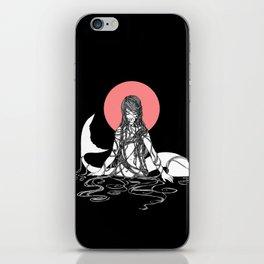The Mermaid Emerges iPhone Skin