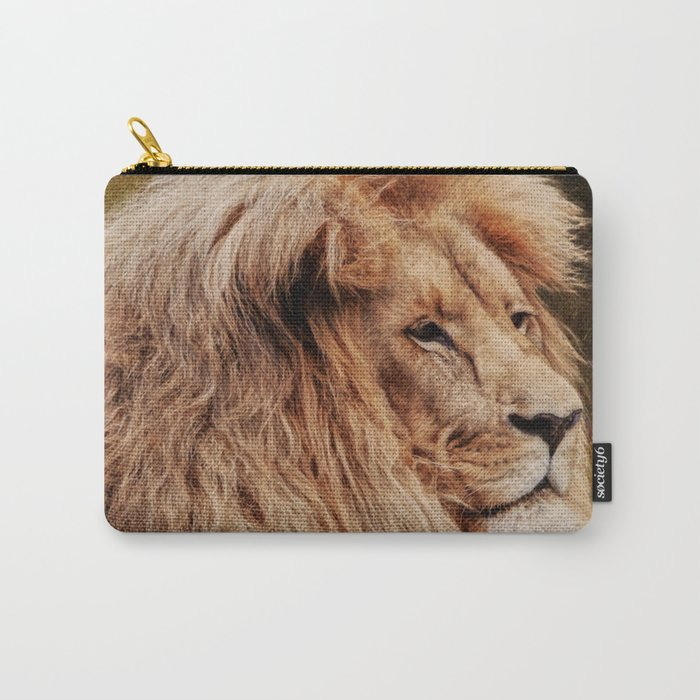 Wild Lion Carnivore Africa Carry-All Pouch