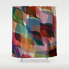 if you leaf me now Shower Curtain