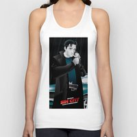 sin city Tank Tops featuring Sin City-Dwight by Szoki