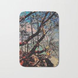 Arbutus Trees, Stoney Hill Sunset Bath Mat
