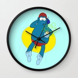 Summer Fun With Dale BigFoot Wall Clock