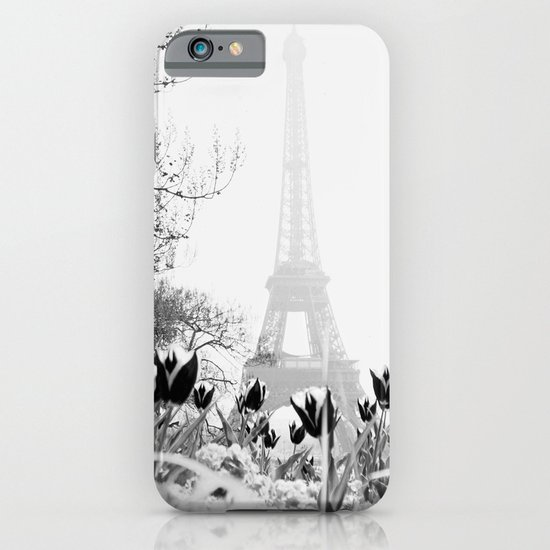 Paris Black & White iPhone & iPod Case