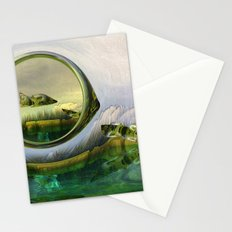 Slipping thru time like sun rays on glass Stationery Cards