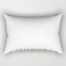 Belly-Dancer-Logo-Gift-Ideas Rectangular Pillow