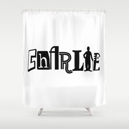 The Tramp Shower Curtain